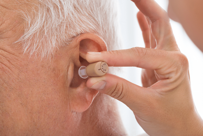 Our hearing service includes expert fitting